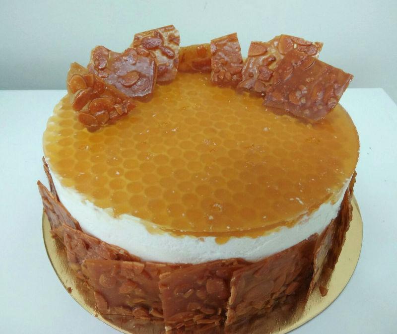 עוגת מוס ודבש לראש השנה