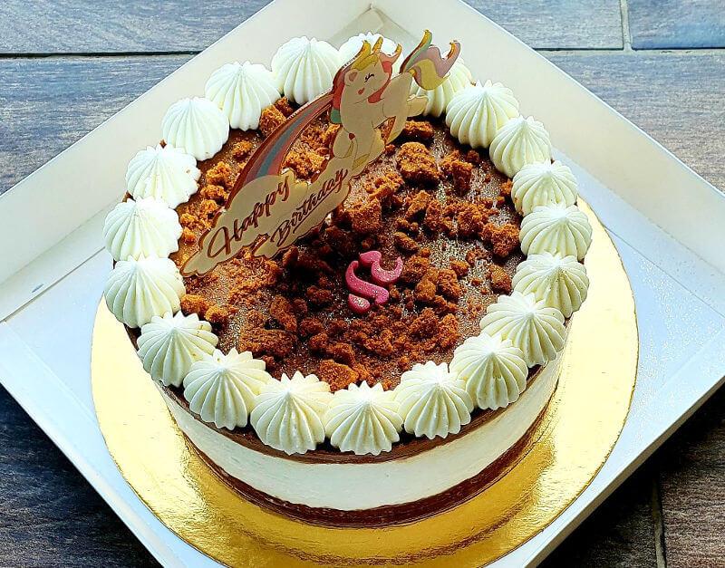 עוגת מוס חד קרן