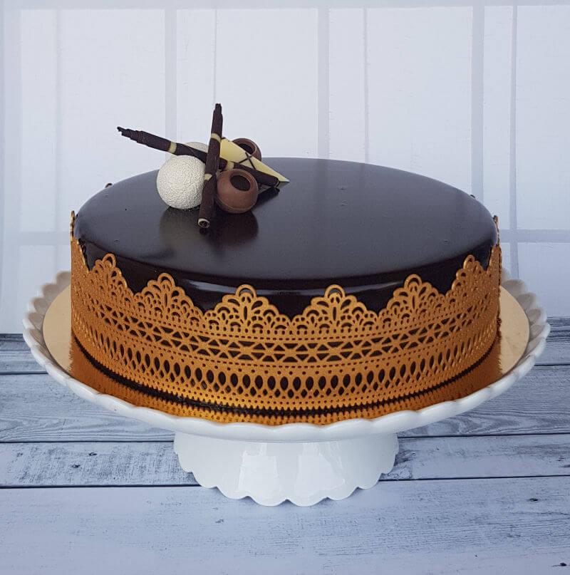 עוגת מוס מעוצבת לחג