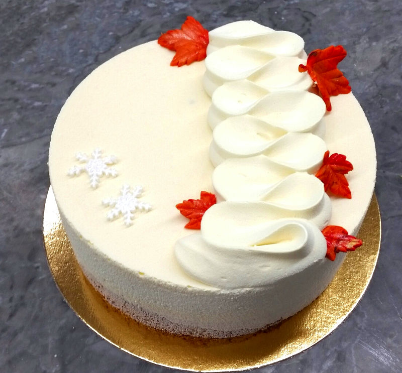 עוגת מוס מעוצבת