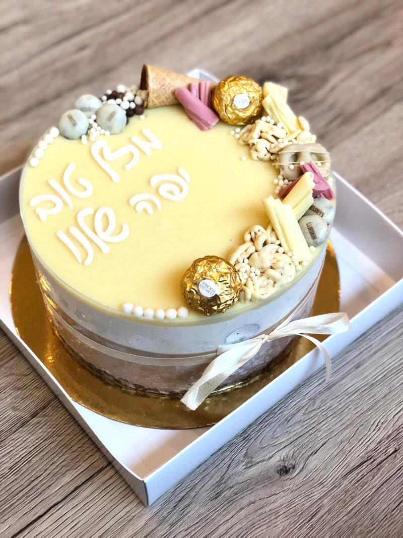 עוגת מוס פררו רושה ואוריאו