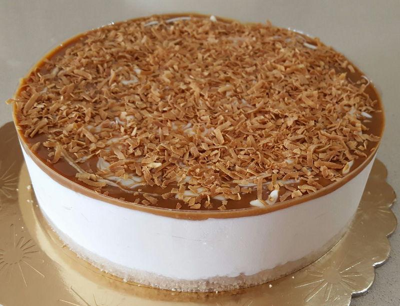 עוגת מוס ריבת חלב