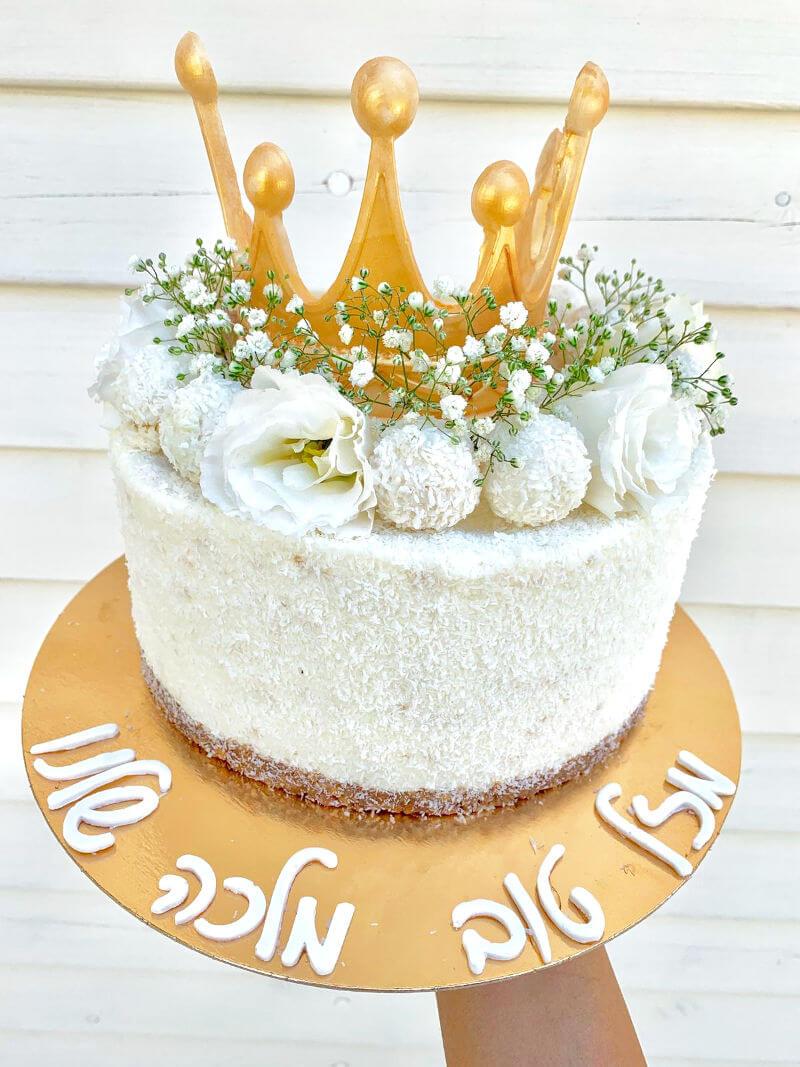 עוגת מוס רפאלו קוקוס למלכה של הבית