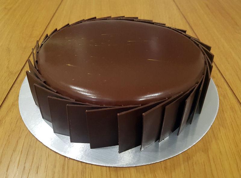 עוג מוס שוקולד וקפה