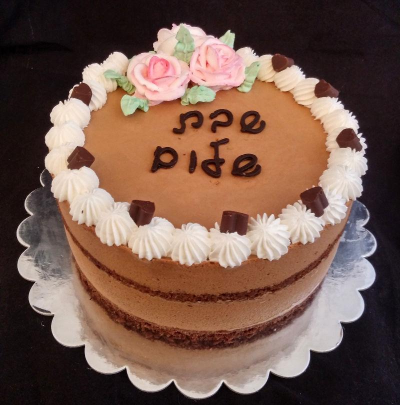 עוגת מוס שוקולד לשבת