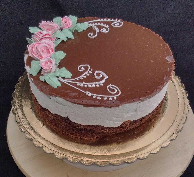 עוגת מוס שמנת