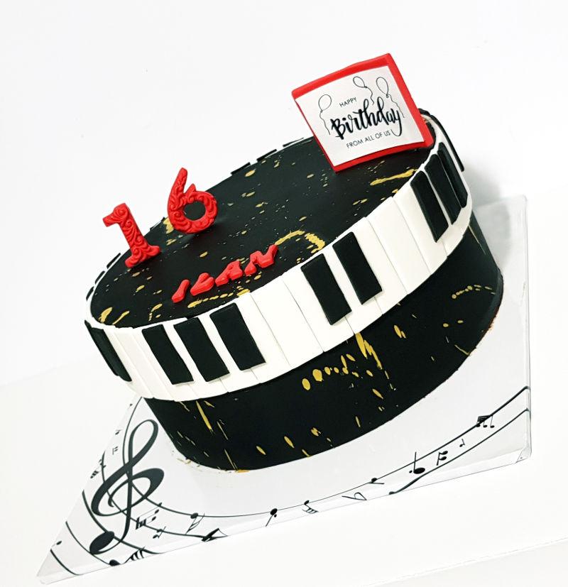 עוגת מיוזקלי לגיל 16