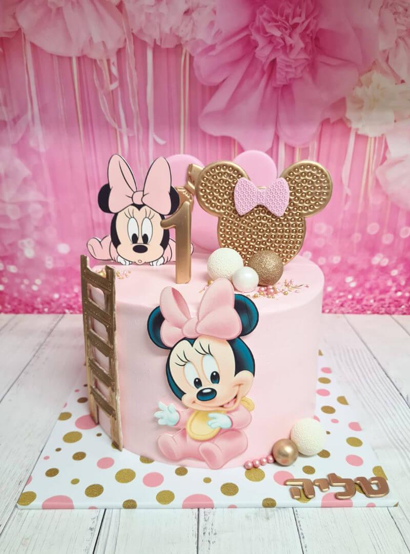 עוגת מיני מאוס בייבי ופופ איט