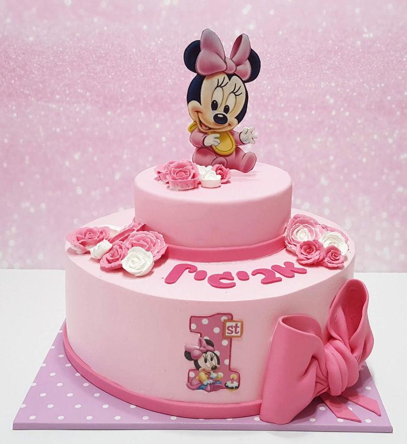 עוגת מיני מאוס לגיל שנה