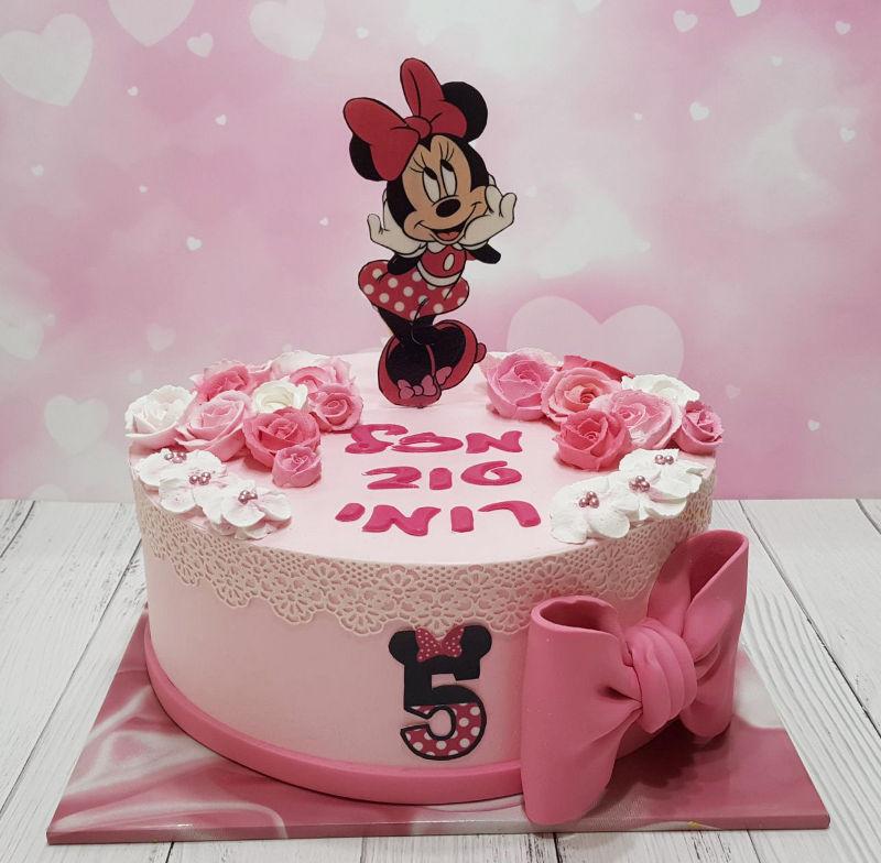 עוגת מיני מאוס זילוף
