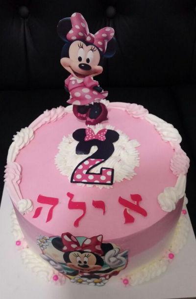 עוגת מיני מאוס יום הולדת