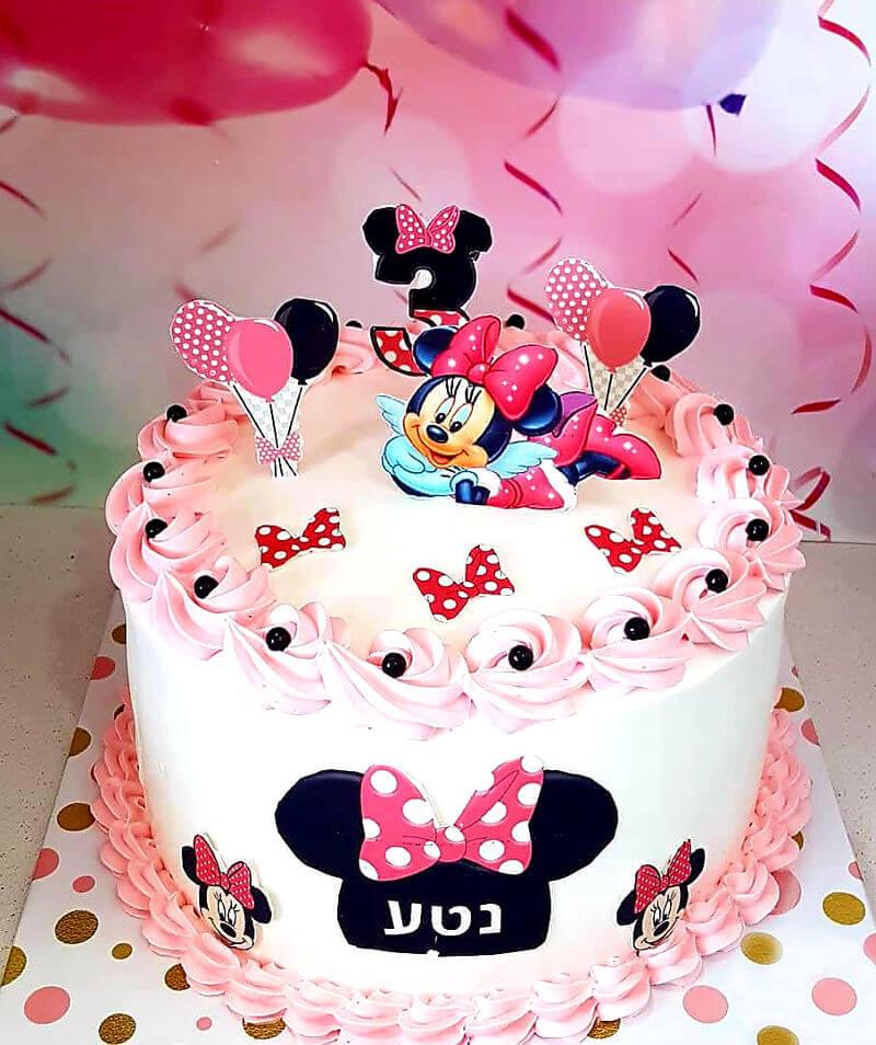 עוגת מיני מאוס ליום הולדת