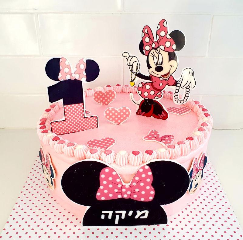 עוגת מיני מאוס גיל שנה