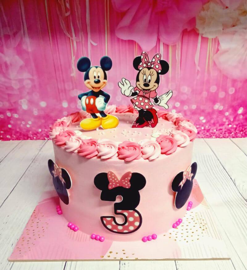 עוגת מיני ומיקי מאוס