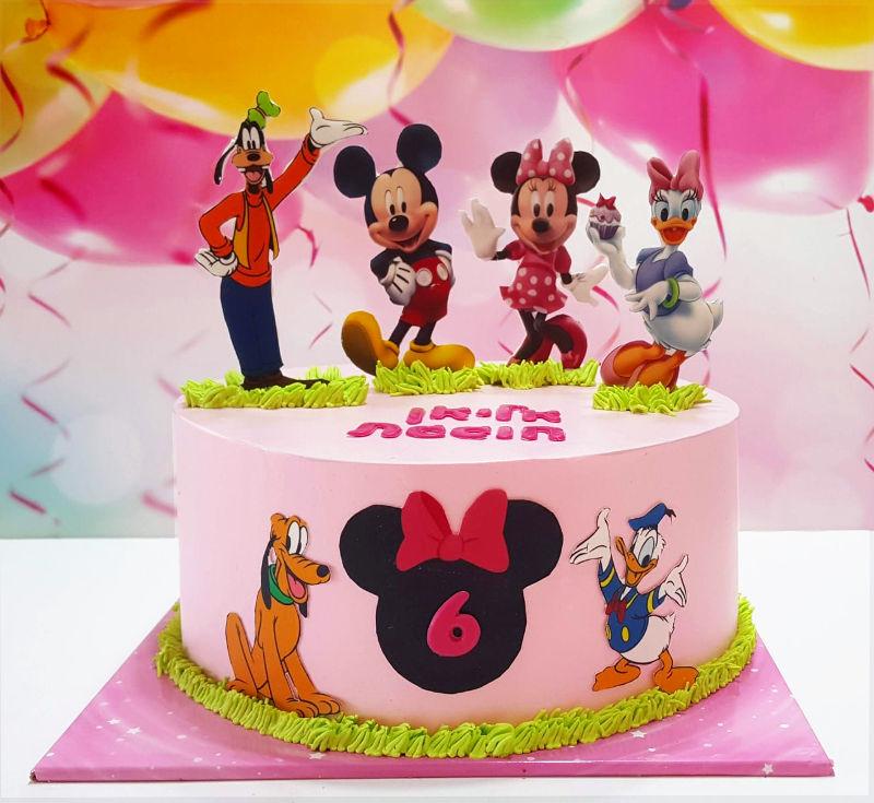 עוגת מיקי מאוס וחברים