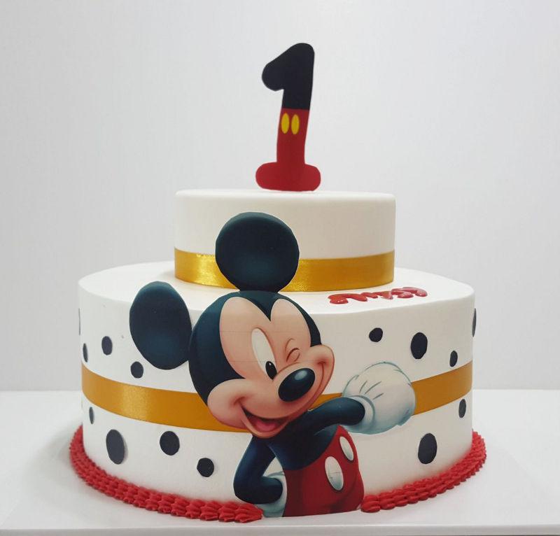 עוגת מיקי מאוס לגיל שנה