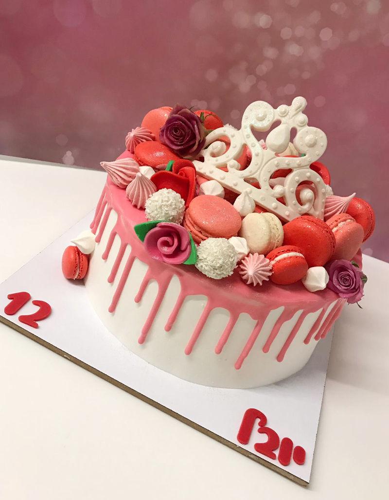עוגת ממתקים לבת מצווה