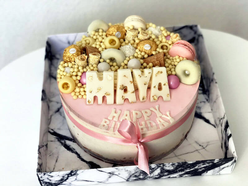 עוגת ממתקים מעוצבת