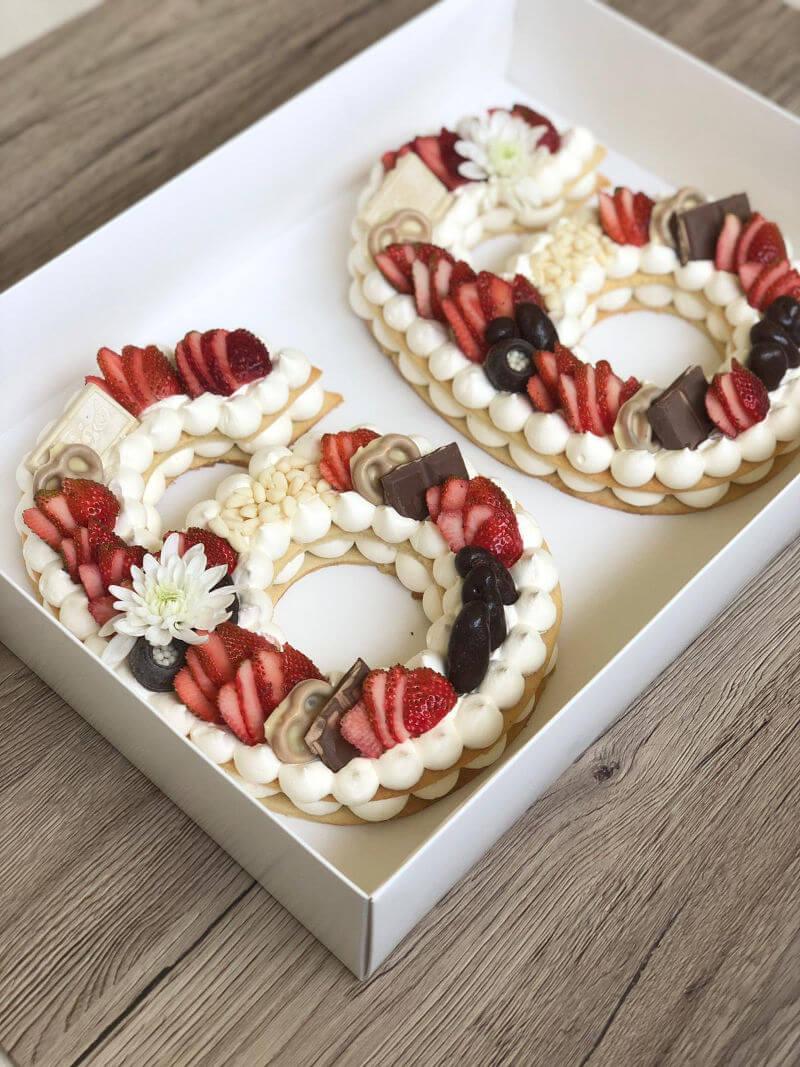 עוגת מספרים מהממת ללא גלוטן וטבעוני