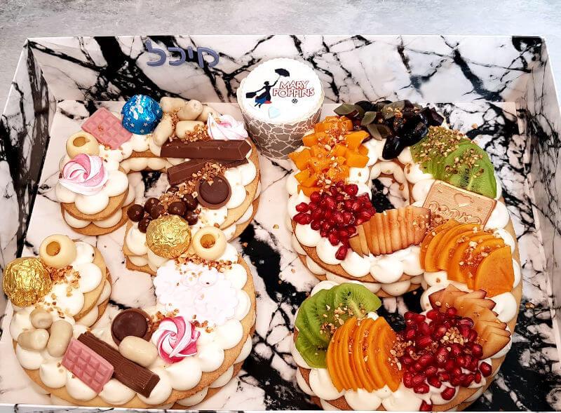 עוגת מספרים ומרי פופינס