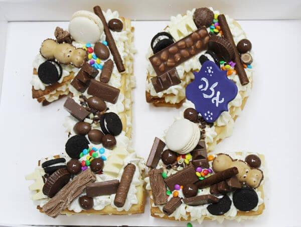 עוגת מספרים