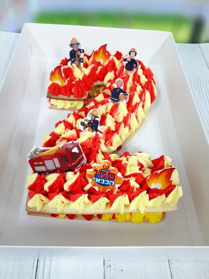 עוגת מספרים סמי הכבאי