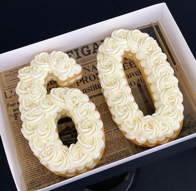 עוגת מספרים קלאסית