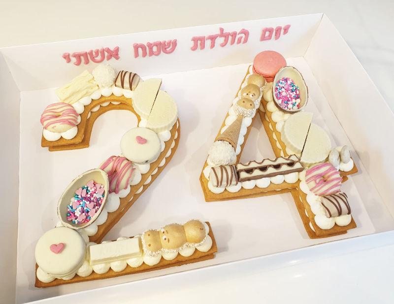 עוגת מספרים 24