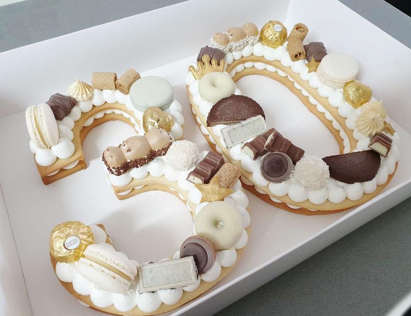 עוגת מספרים 30