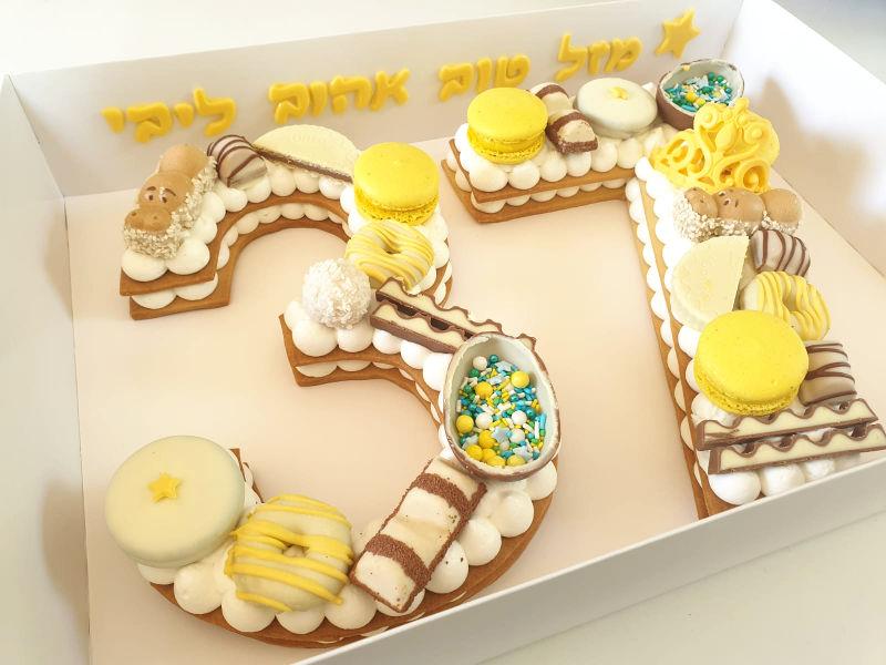 עוגת מספרים 37