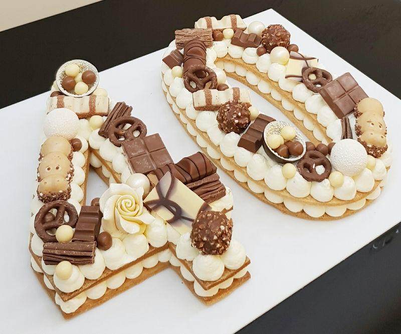 עוגת מספרים 40