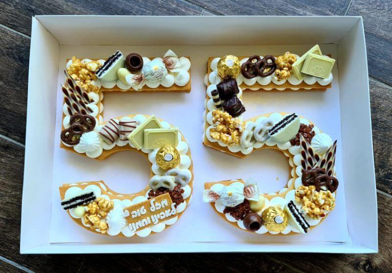 עוגת מספרים 54