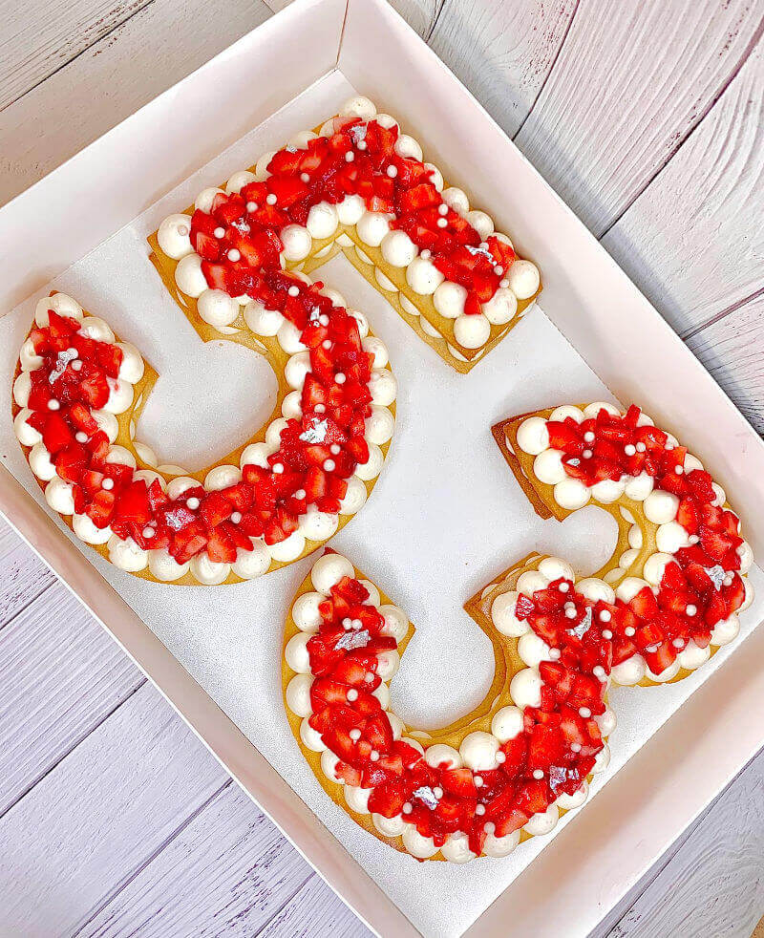 עוגת מספרים פרווה