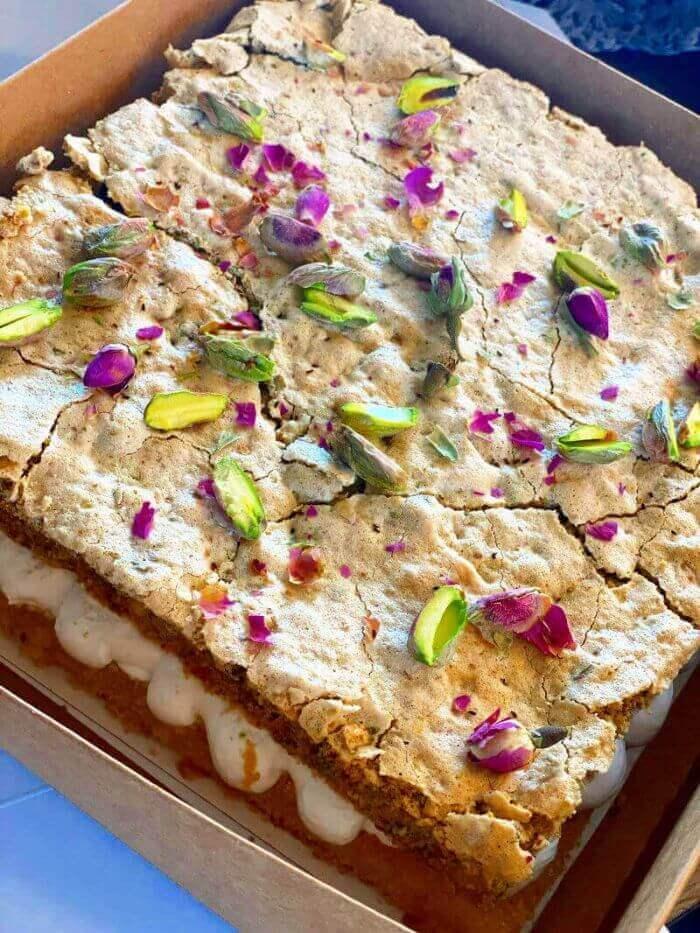 עוגת מרנג לפסח