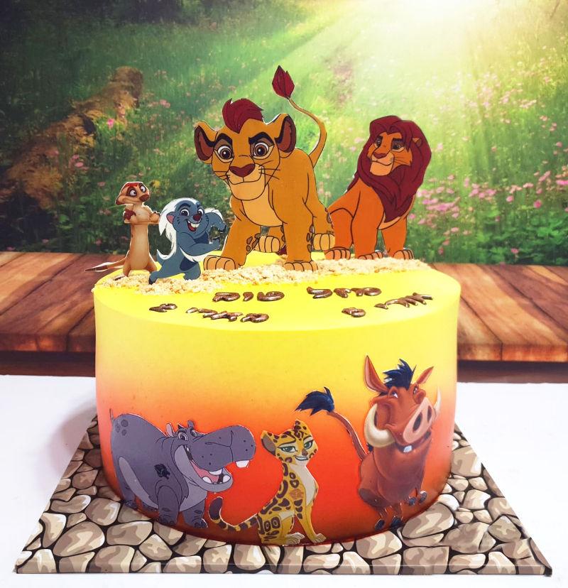 עוגת משמר האריות