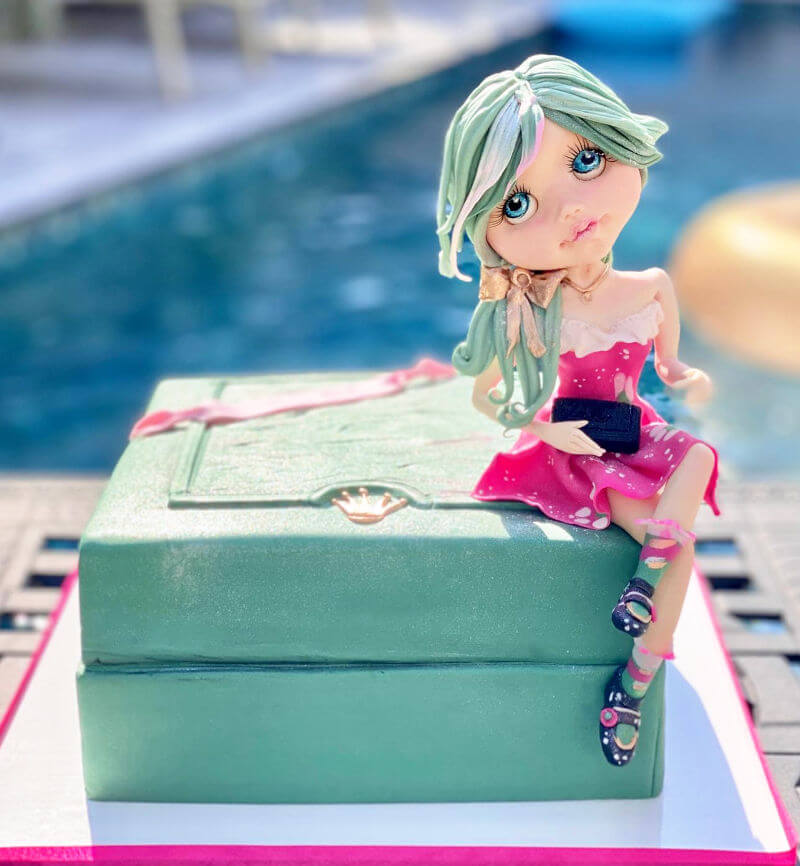 עוגת מתנה מעוצבת