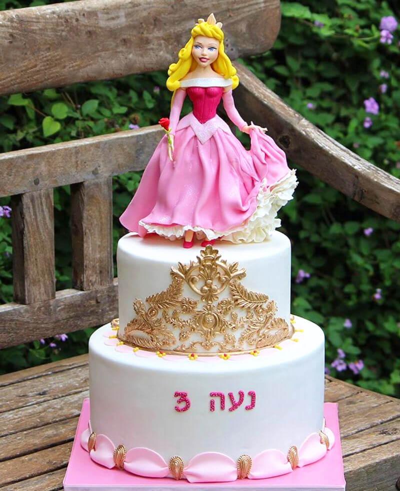 עוגת נסיכה היפייפיה הנרדמת