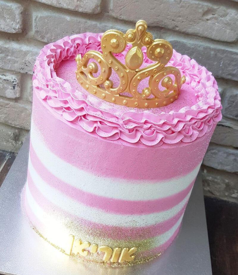 עוגה ליום הולדת בנות נסיכה