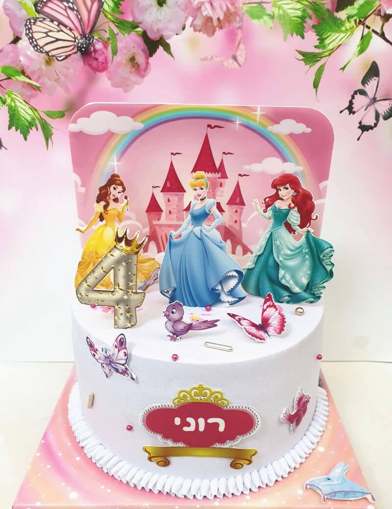 עוגת נסיכות בארמון