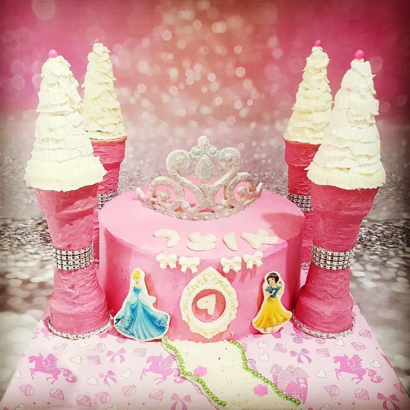 עוגת נסיכות ליום הולדת