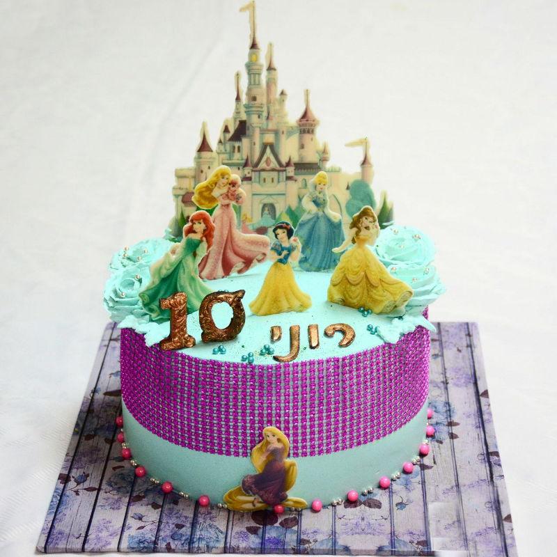 עוגת נסיכות בטירה