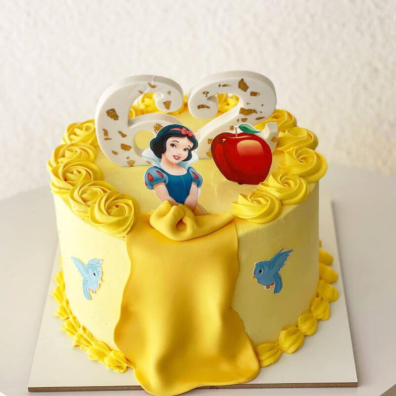 עוגת נסיכות שלגיה פרווה