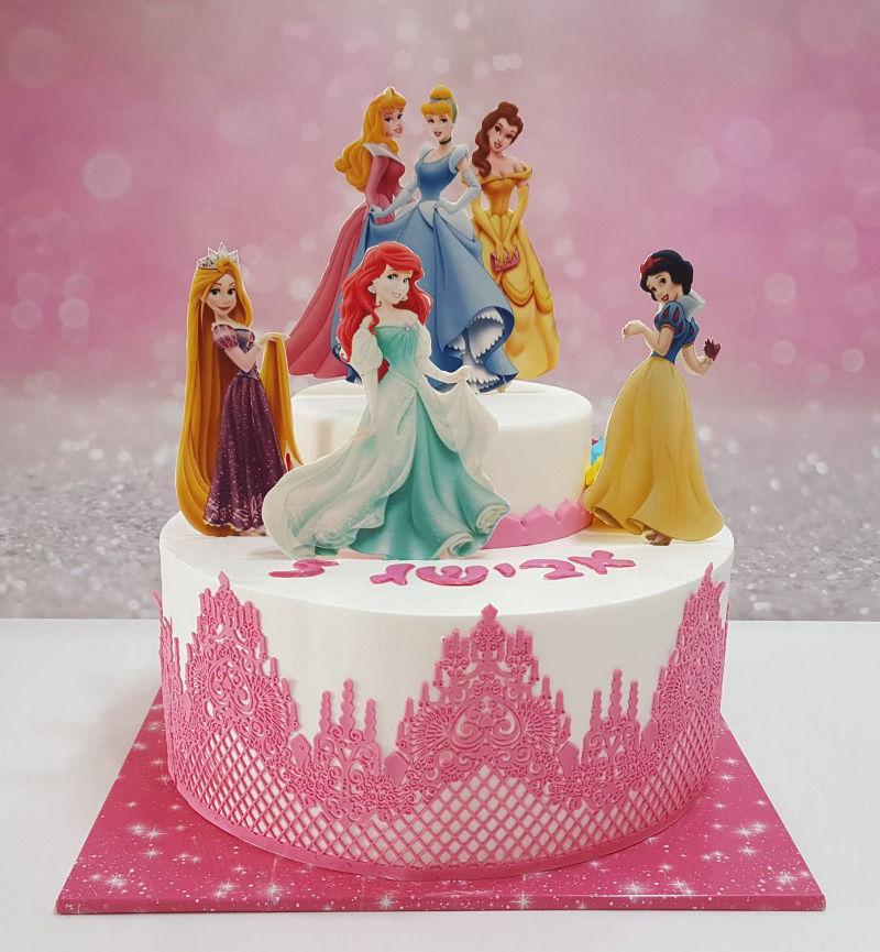 עוגת נסיכות של דיסני