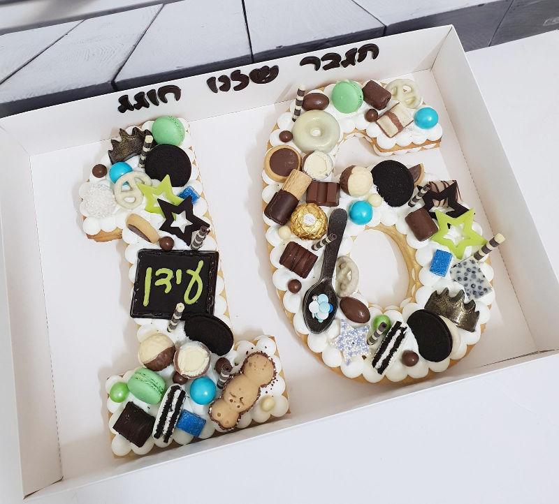 עוגה לבן sweet 16