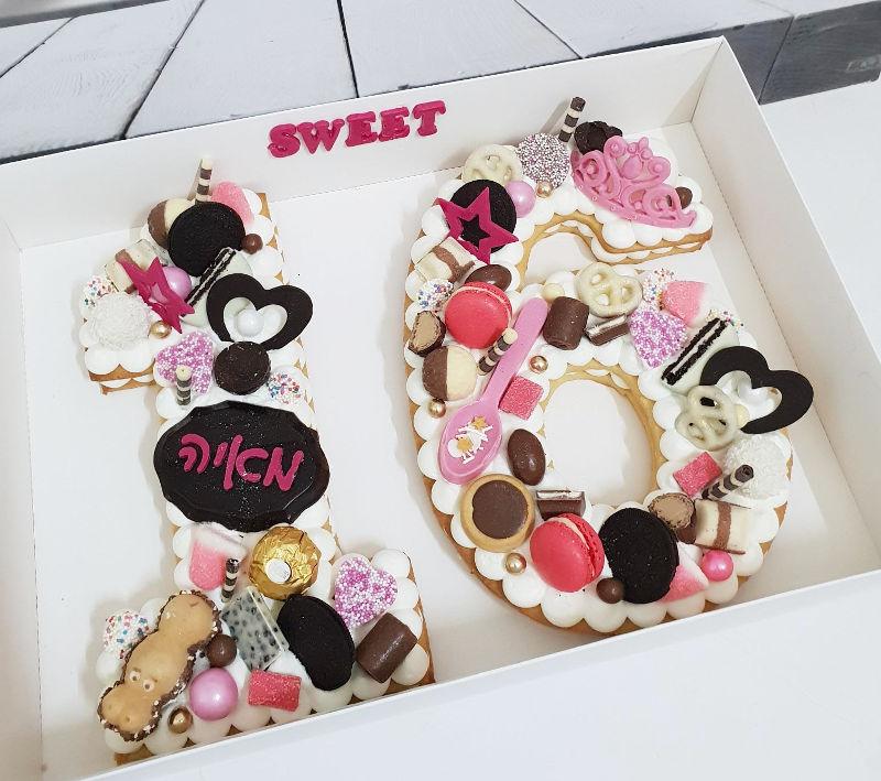 עוגה לבת sweet 16