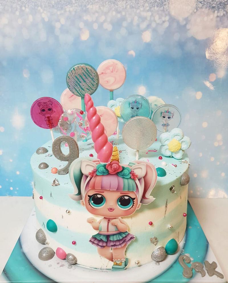 עוגת סוכריות LOL