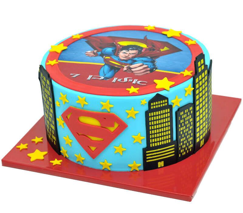 עוגת סופרמן ליום הולדת