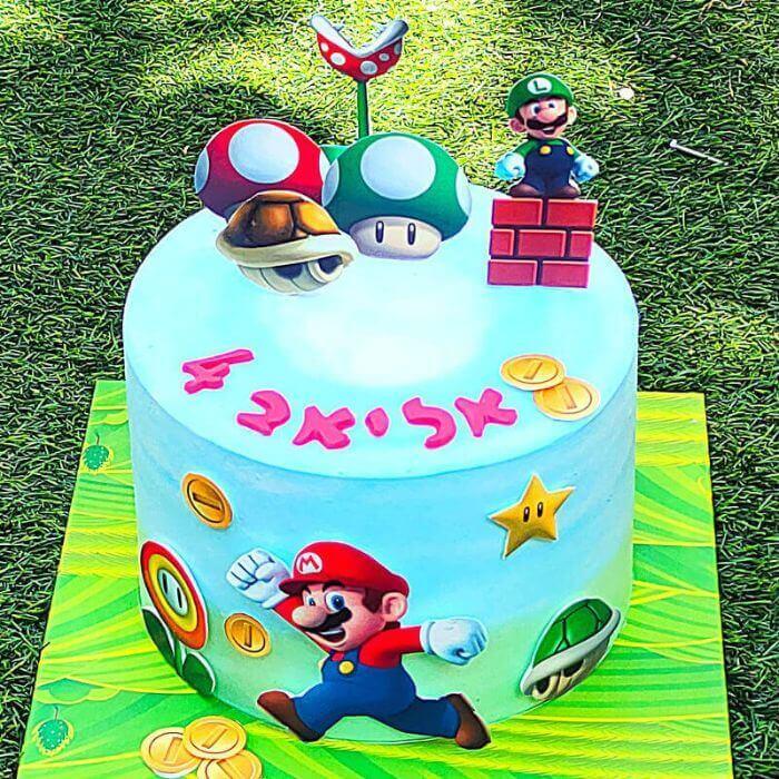 עוגת סופר מריו
