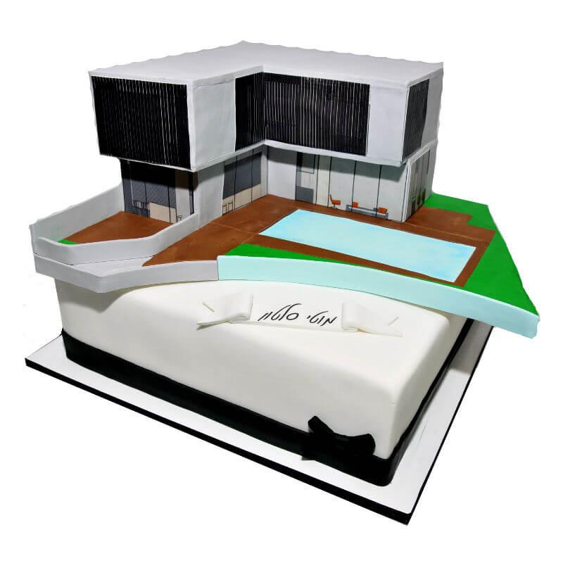 עוגה מעוצבת לסיום פרוייקט