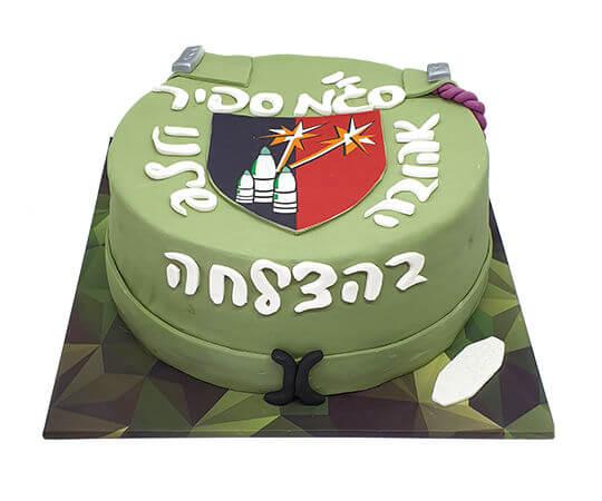 עוגת סיום קורס קצינות